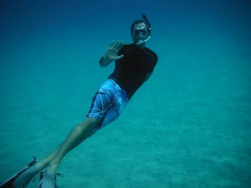 Jarrod Brownsberger Flicker Physical Therapy Underwater