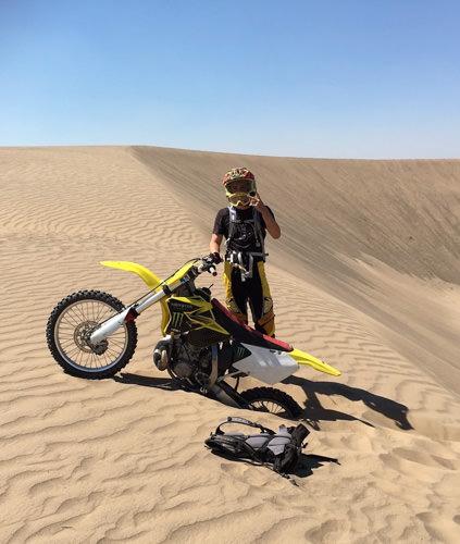 Ryan Lish motorcycle